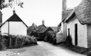 Bossington, The Village c.1965