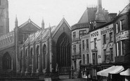 Boston, By St Botolph's Church 1889