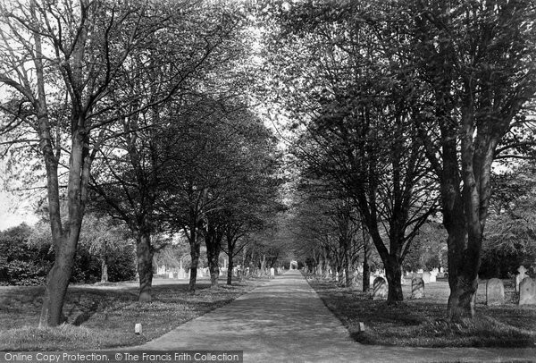 Boston, Cemetery 1899