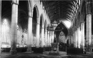 Boston, Church Interior 1889
