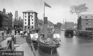 Boston, Doughty Quay 1890