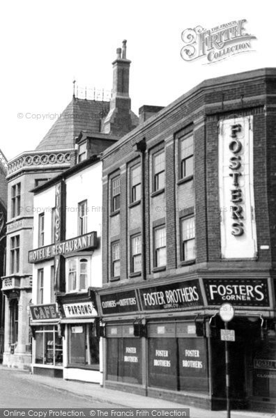 Boston, Fosters Corner c.1955