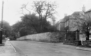 Boston Spa, Fairseat House And Tadcaster Road c.1955