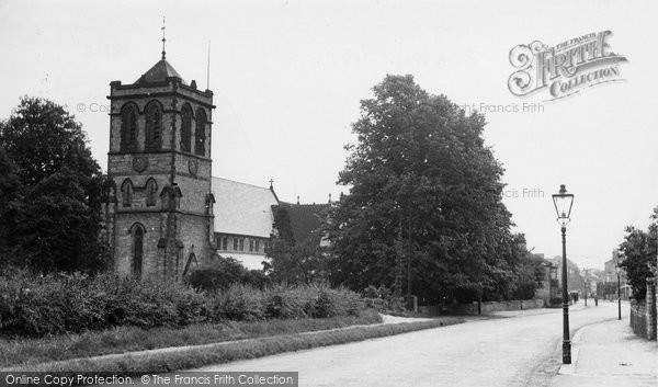 Boston Spa, Parish Church Of St Mary The Virgin c.1955