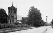 Boston Spa, Parish Church Of St Mary The Virgin c.1955
