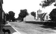 Boston Spa, St Mary's Church And Street 1893
