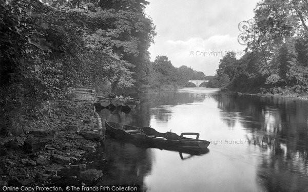 Boston Spa, The River 1921