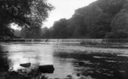 Boston Spa, The Weir c.1955