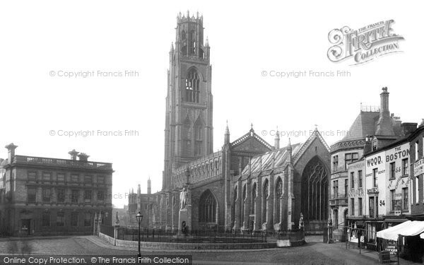 Boston, St Botolph's Church 1889