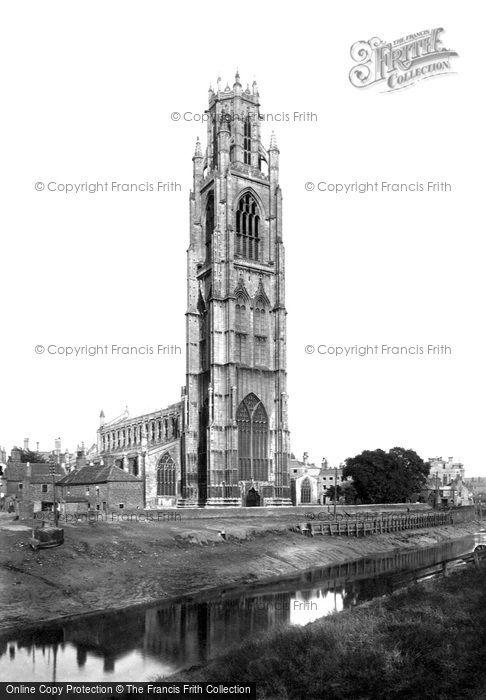 Boston, St Botolph's Church 1890