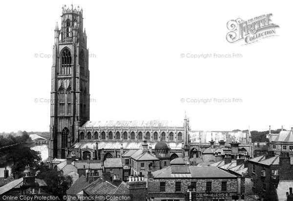 Boston, St Botolph's Church 1893