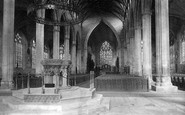 Boston, St Botolph's Church Nave East 1890