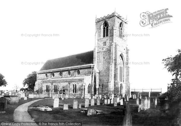 Photo of Boston, St Nicholas's Church, Skirbeck 1893