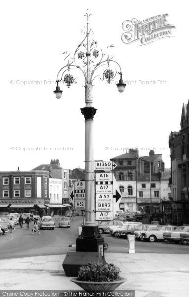 Boston, Street Lamp c.1965