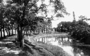Boston, The Bath Gardens 1893