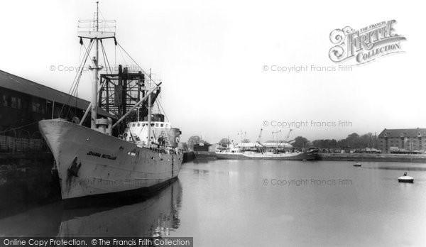 Boston, The Docks c.1965