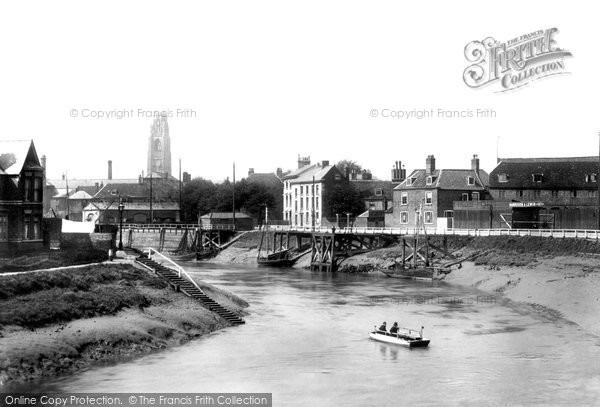 Boston, The Ferry 1899