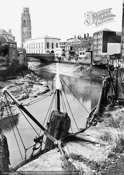 Boston, The Quay c.1955