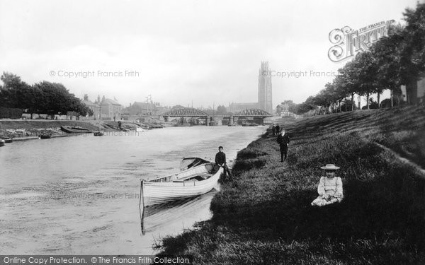 Boston, The River Witham 1893