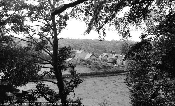 Bothal, The Village c.1960