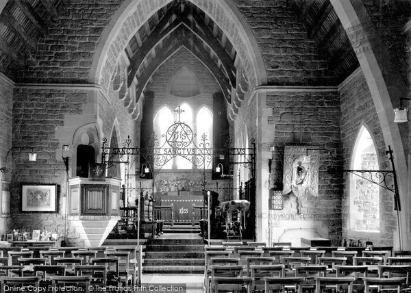 Bothenhampton, Holy Trinity Church c.1955