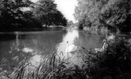 Botley, The River c.1960