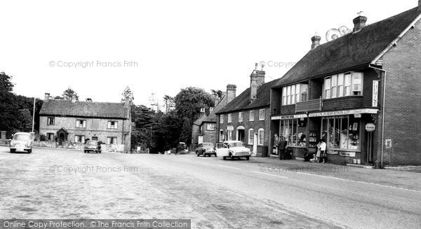 Botley, The Square c.1960