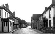 Botley, Winchester Road c.1955