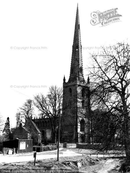 Bottesford, Church Of St Mary The Virgin c.1955