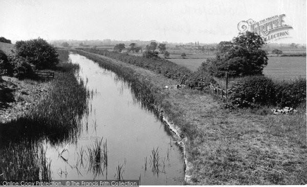 Bottesford, Grantham Canal c.1955
