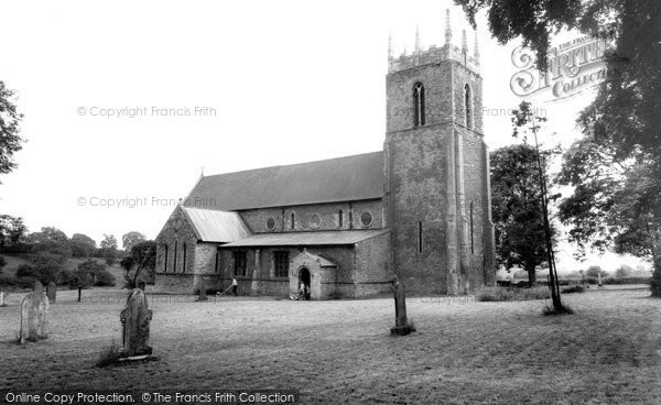 Bottesford, The Church c.1960