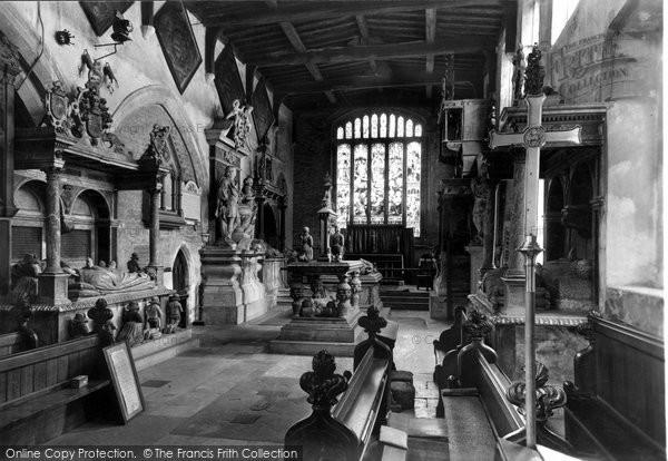 Bottesford, The Church, Interior c.1955