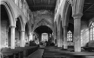 Bottesford, The Church Nave c.1955