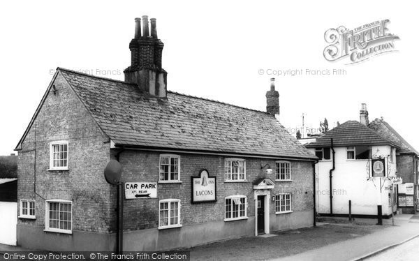 Bottisham, The Bell Inn c.1955