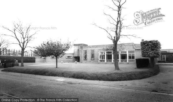 Bottisham, Village College c.1955