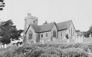 Boughton-Under-Blean, The Parish Church c.1955