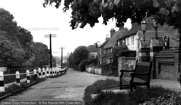 Photo of Boughton-Under-Blean, the Village c1965