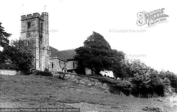 Boughton Under Blean, Under Blean, Parish Church c.1960