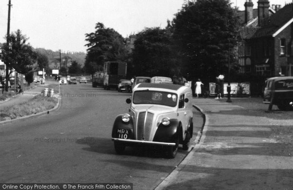 Bourne End, Morris 8 c.1960