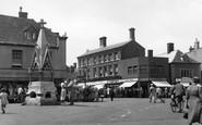 Bourne, Market Square 1955
