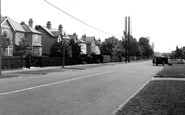 Bourne, North Road c.1955