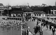 Bournemouth, A View From The Pier 1933