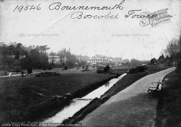 Bournemouth, Boscobel Tower 1887