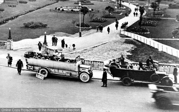 Bournemouth, Charabanc 1923
