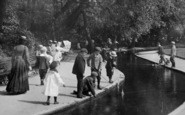 Bournemouth, Children Playing 1900