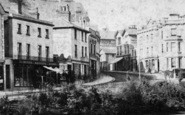 Bournemouth, Christchurch Road c.1875