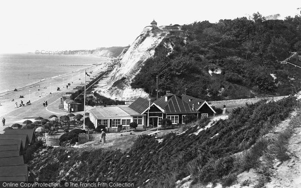 Bournemouth, Durley Cliffs 1934