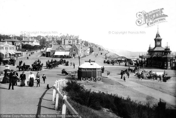 Photo of Bournemouth, East Cliff from West 1897