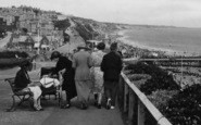 Bournemouth, Families On East Cliff 1922