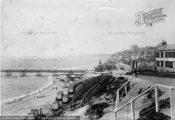 Bournemouth, From East 1895